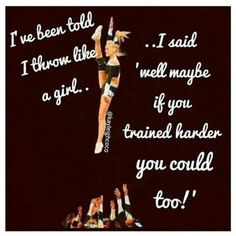 Pin by Tiffany Time on Cheerleading | Cheerleading quotes ...