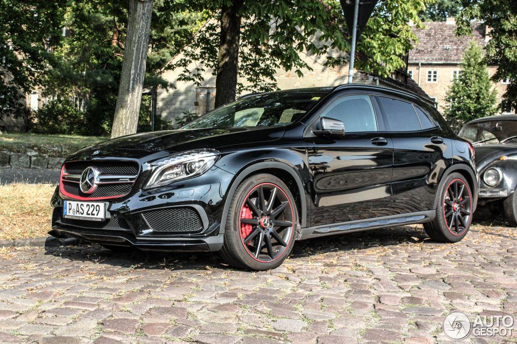 Mercedes Benz Gla 45 Amg Edition 1 5 Autos Y Motos Automoviles