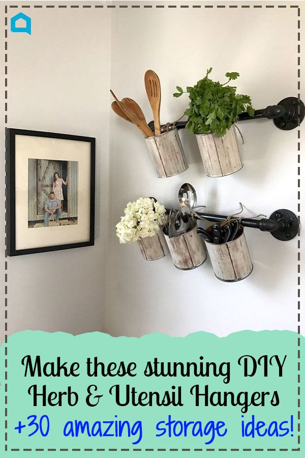 32 Space Saving Storage Ideas That'll Keep Your Home Organized is part of Big home Projects - Don't be alarmed if your house feels 10x larger and more tidy after these! DIY SpaceSavers Hacks Storage Organization