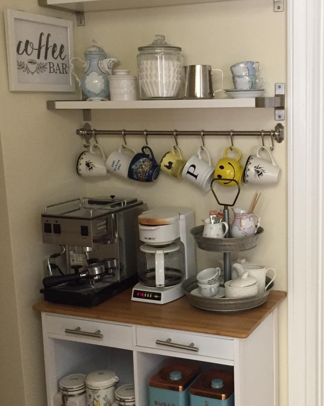 diy coffee station ideas for your mood buzz how to make your own