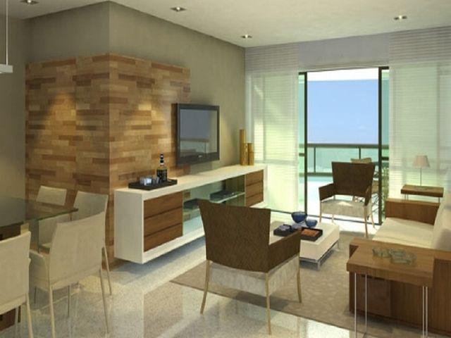 Sala decorada apartamento pequeno pesquisa google for Apartamentos decorados pequenos
