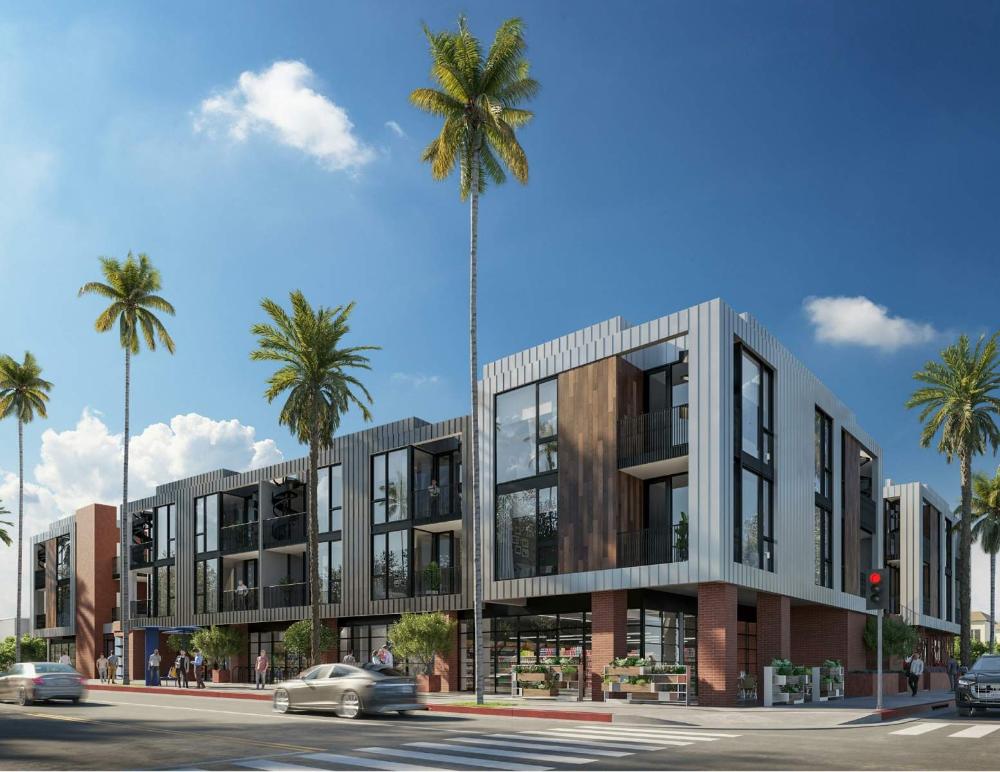 Fresh Rendering For Santa Monica Yale Development Urbanize La Commercial Architecture Architecture Santa Monica