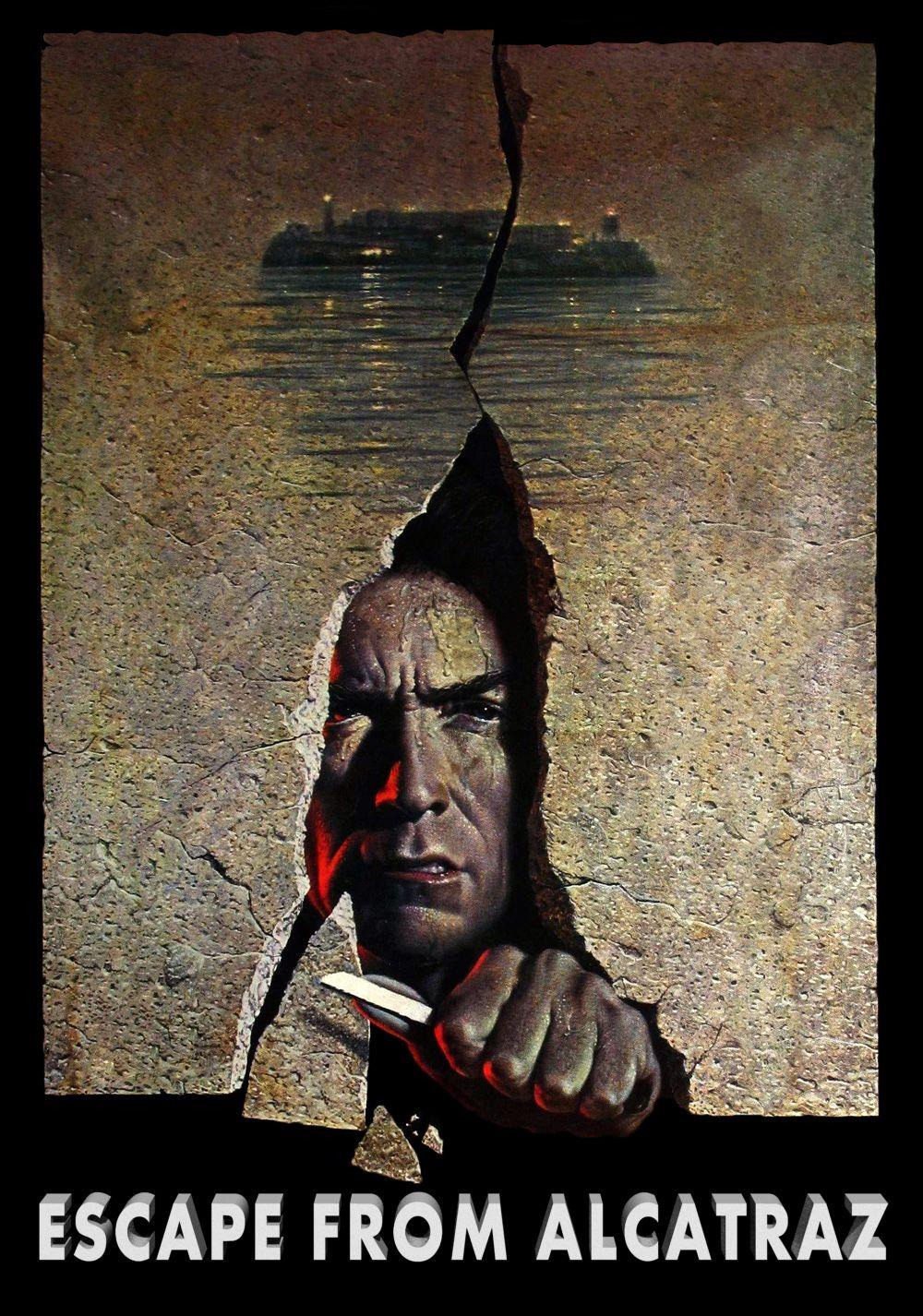 Escape From Alcatraz 7 10 Alcatraz Classic Movie Posters
