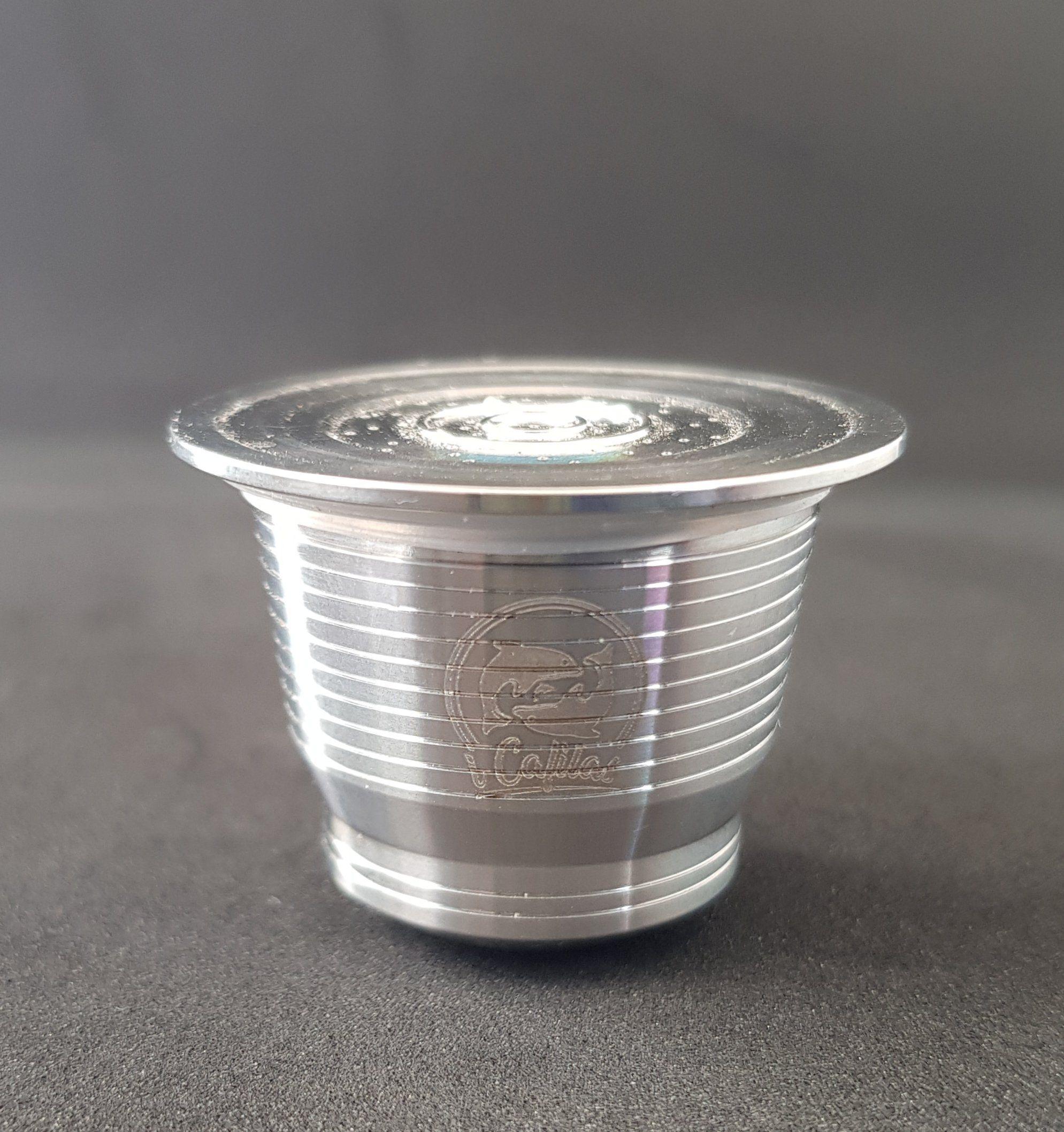 Stainless Steel Nespresso Capsules ecocoffeestore