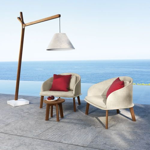 Modern outdoor floor lamp Cleo by