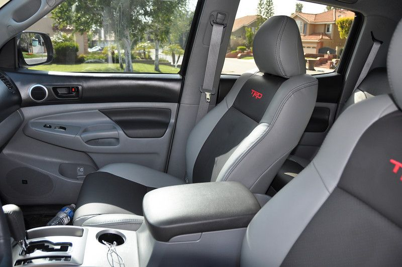 Katzkin Leather Seat Group Buy Toyota Tacoma Accessories Toyota Tacoma Access Cab Tacoma Accessories