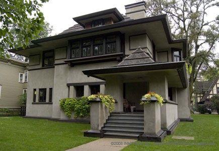 Frank lloyd wright chicago chicago weekend ideas for Frank lloyd wright craftsman style