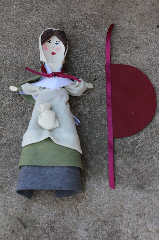 My Mommy Makes It: Exploring History At Home. The Pilgrims-activities, crafts and recipes Part 2 Make a spoon doll with the Courage of Sarah Noble book club!