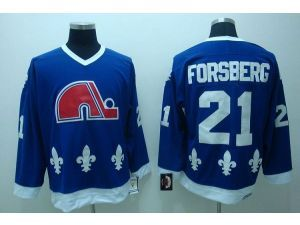 ... netherlands nhl ccm quebec nordiques 21 peter forsberg throwback blue  jersey e121a d4ed8 ... b2746df4a