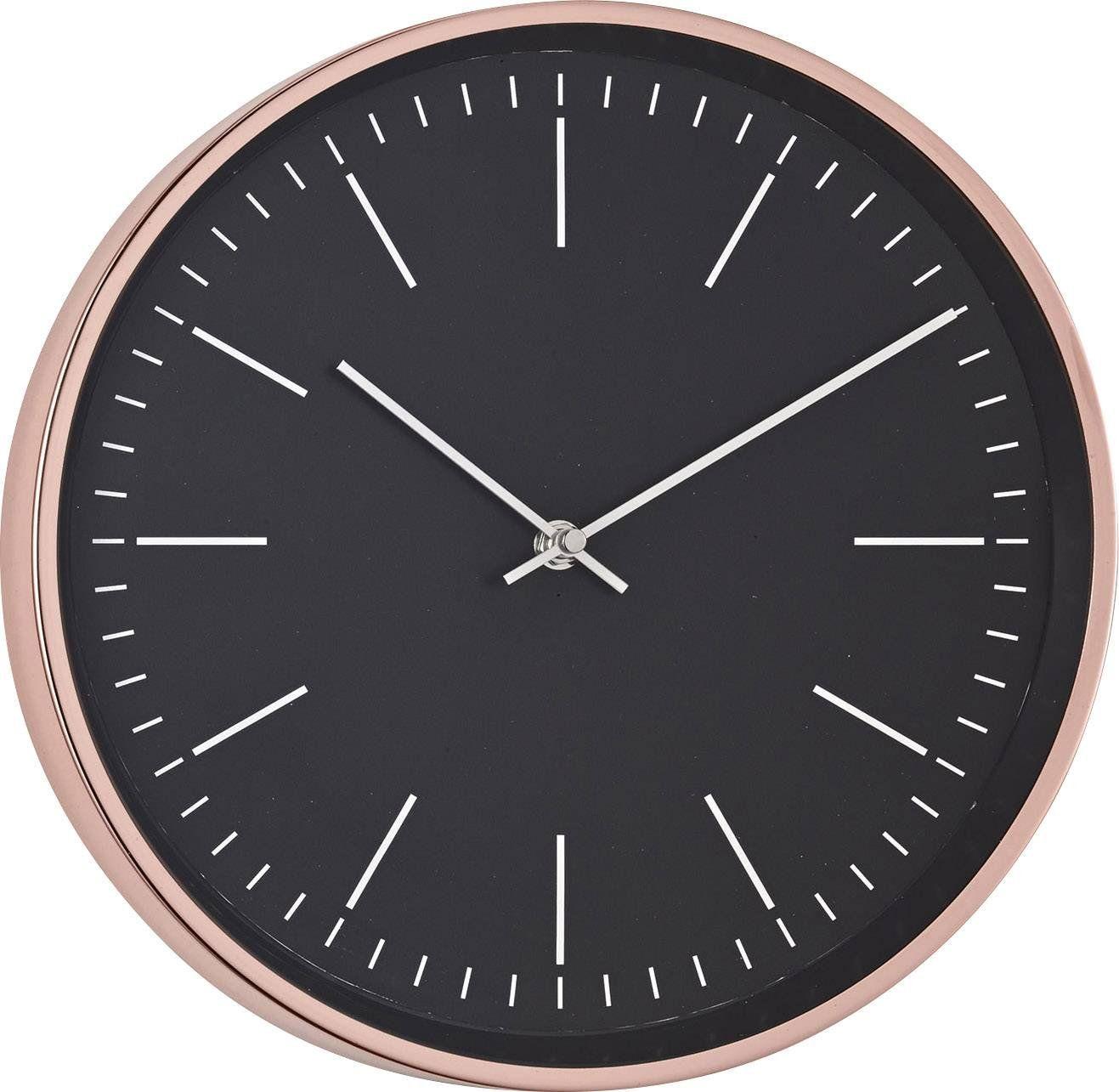 Mebus 18762 Quarz Wanduhr 30 5cm X 4 5cm Kupfer Amazon De Elektronik Wanduhren Uhren Kupfer