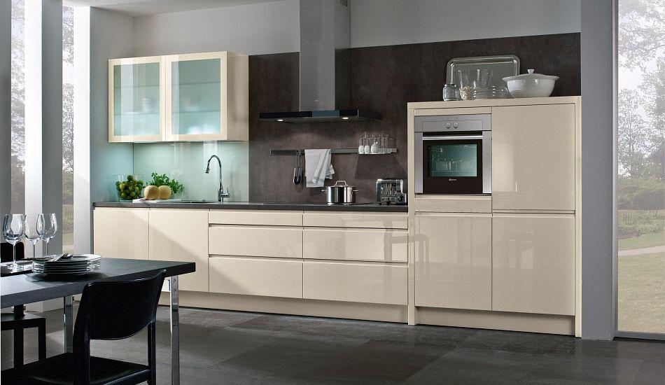 einbauk che pyrit magnolie hochglanz lack wohnung pinterest hochglanz lack. Black Bedroom Furniture Sets. Home Design Ideas