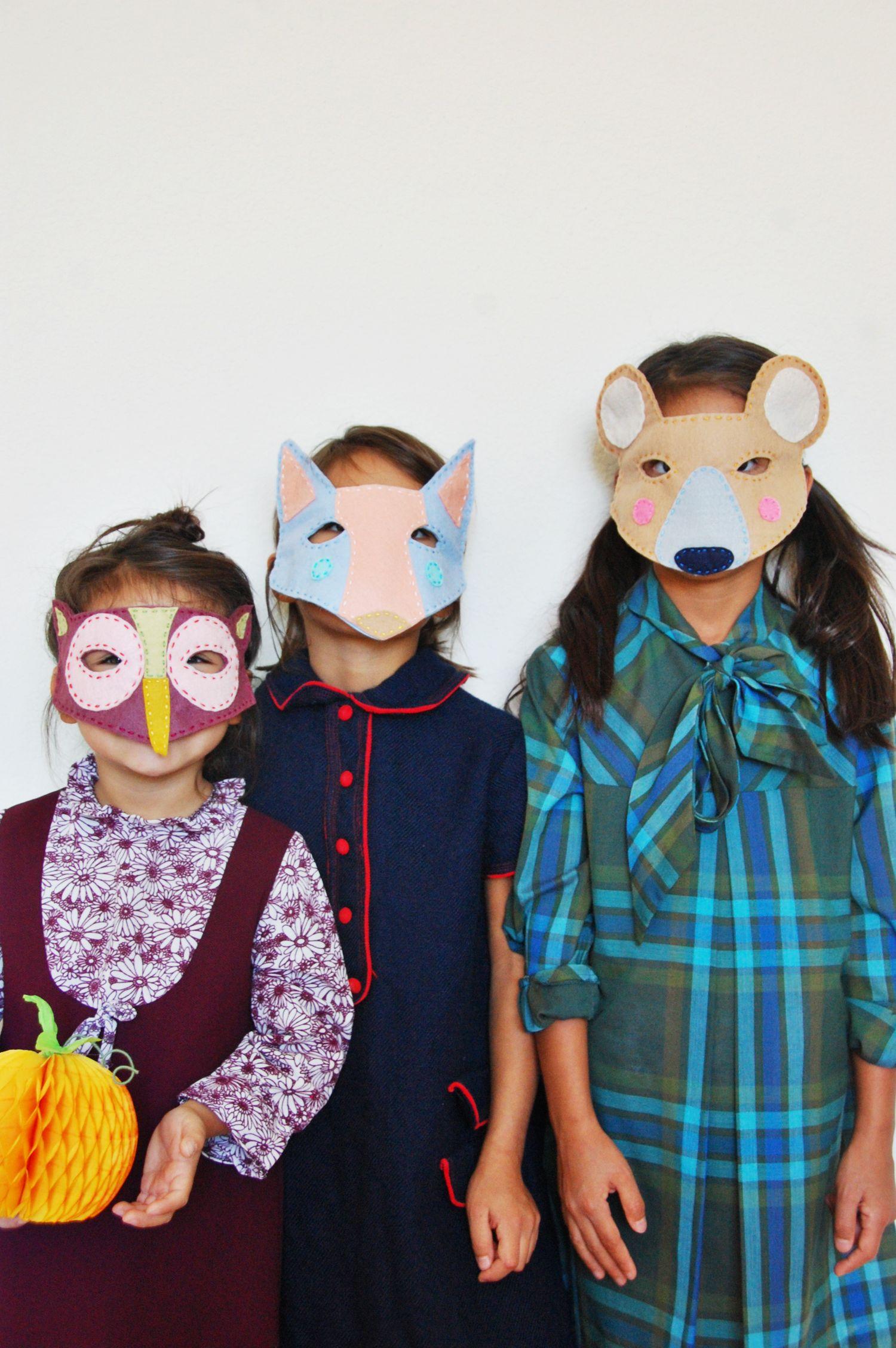 Weihnachtsfeier Masken selber machen - 50 Ideen für jeden Anlass ...