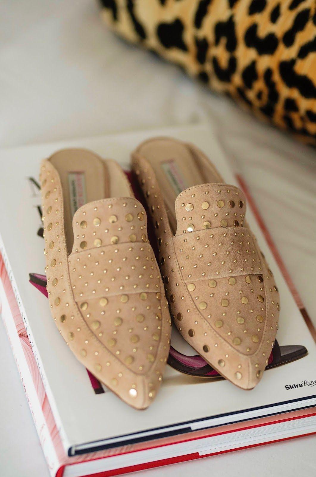 00786ca138ff Nordstrom Anniversary Sale Kristin Cavallari Charlie Studded Loafer Mule -  Something Delightful Blog