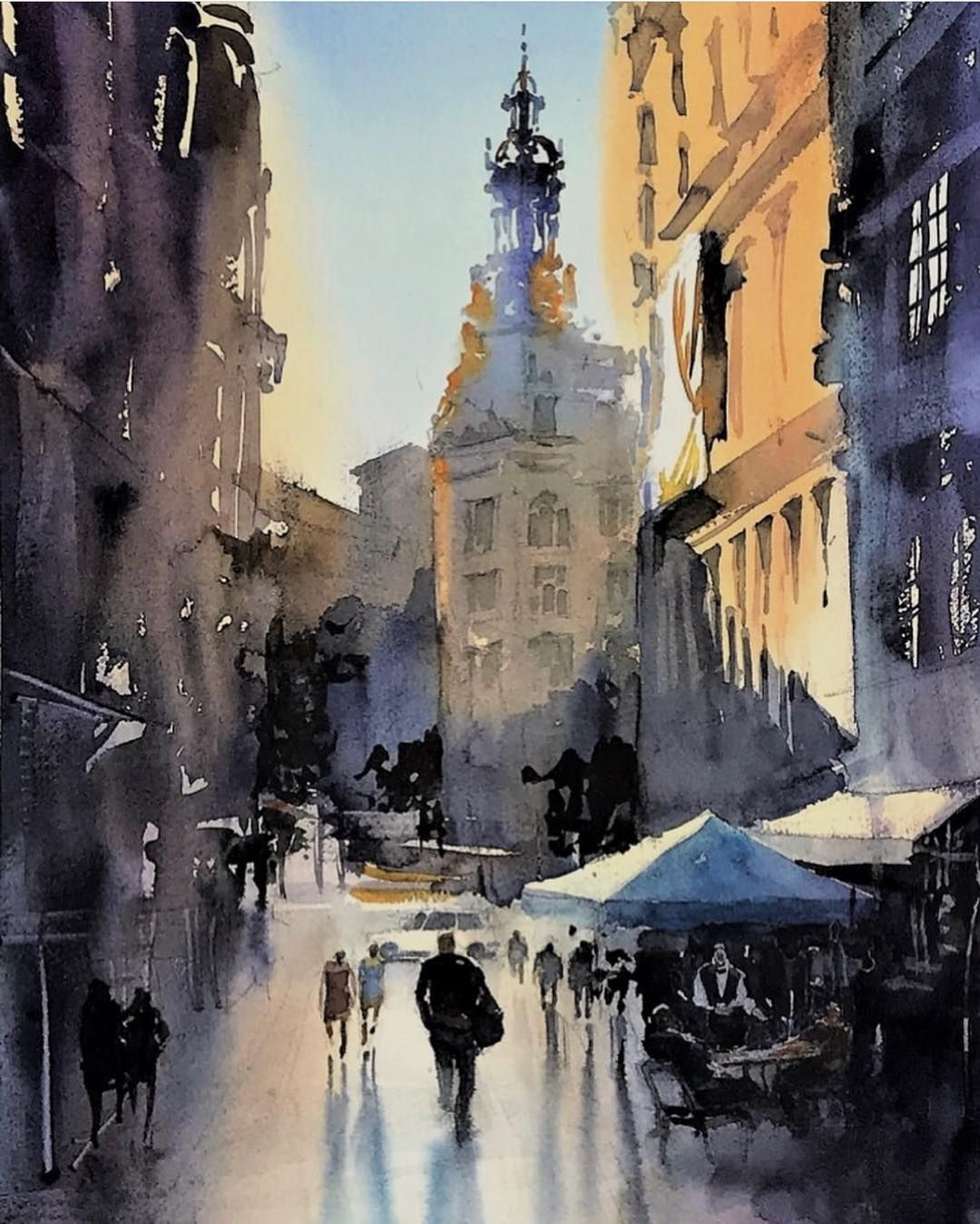 Art Blog On Instagram Kazuo Kasai Kazuo Kasai Watercolor