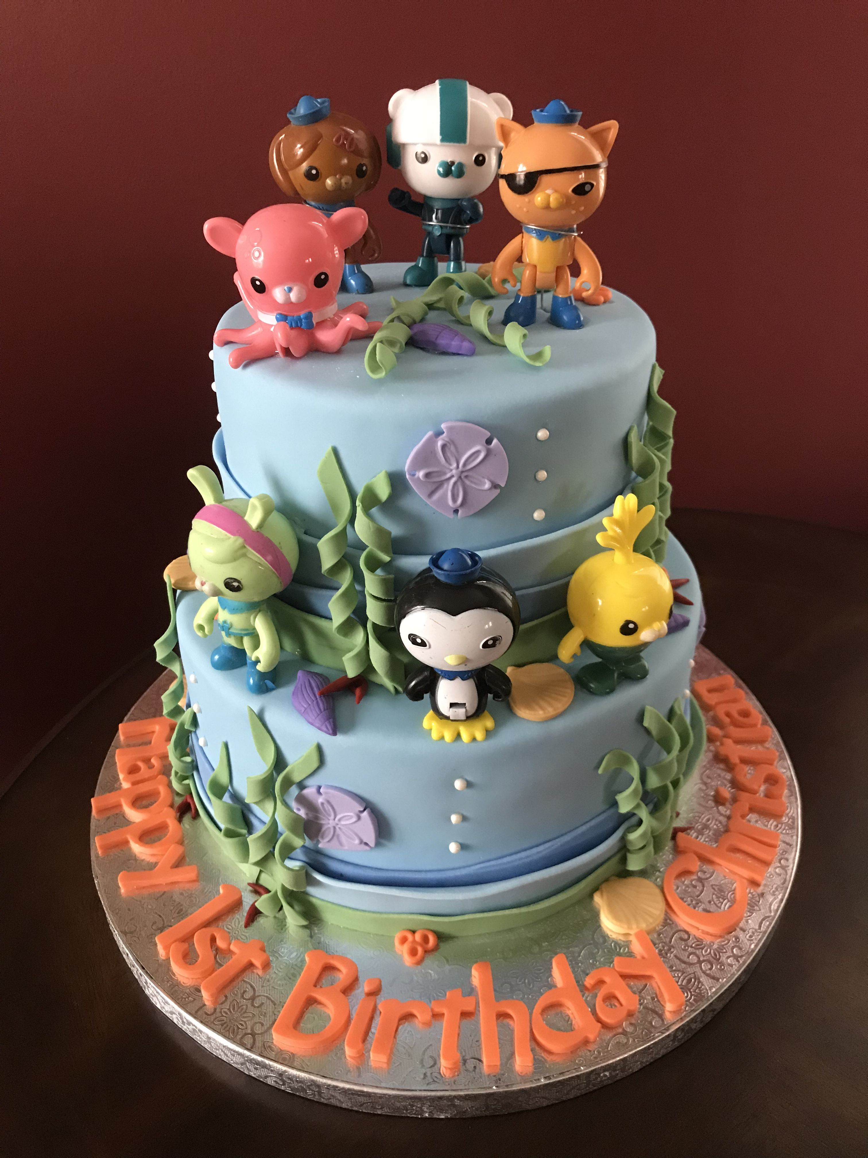 Octonauts Birthday Cake Birthday Cakes Pinterest Birthday cakes