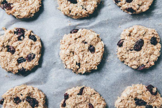 Mäkké ovocno-ovsené sušienky so sušenými brusnicami | JEDZ A MILUJ