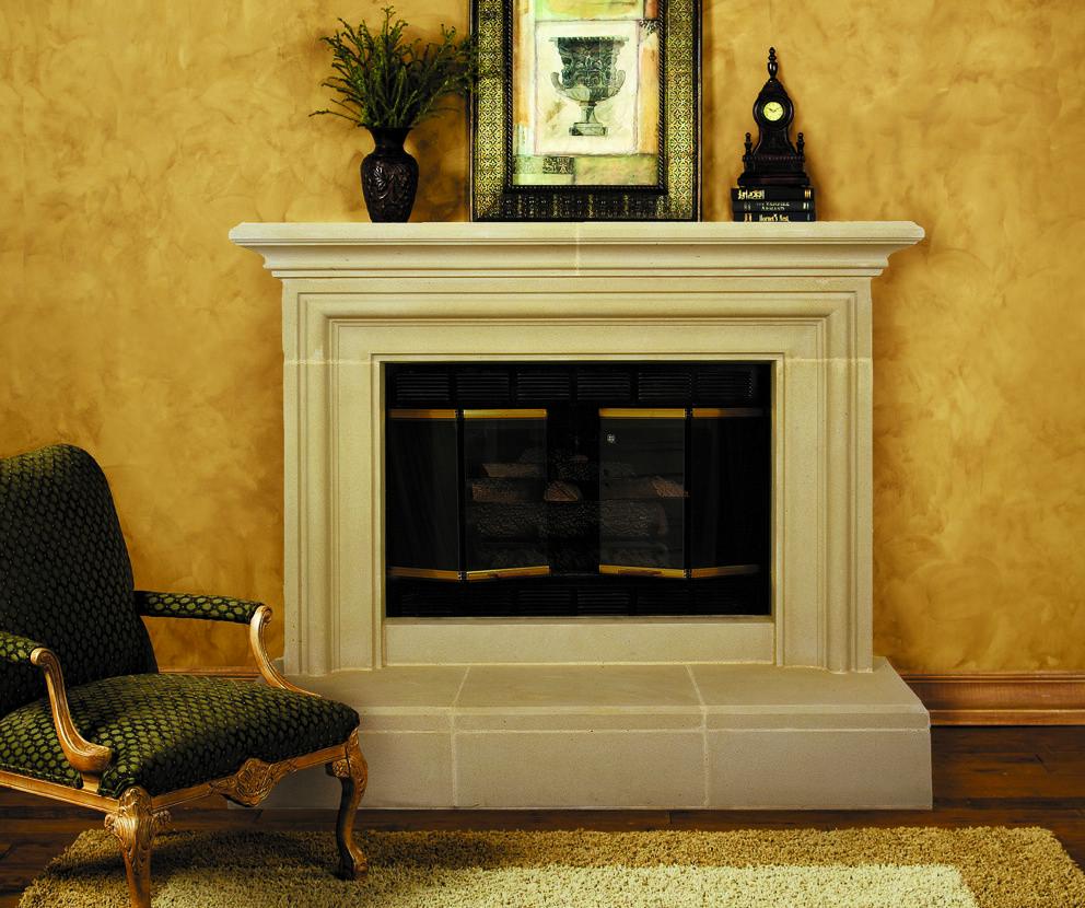 CapriCast Stone Fireplace Mantel | Mantels, Capri and Fireplace mantel