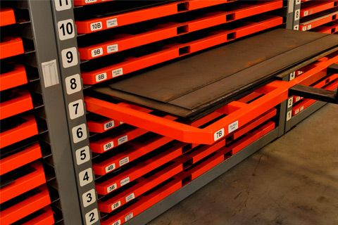 Big Steel Rack Sheet Metal Tubing Rack Storage Solutions Steel Racks Sheet Storage Metal Storage Racks