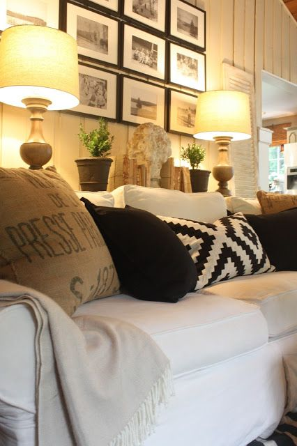 My sweet savannah finding fall home tour with better homes gardens love this gallery wall