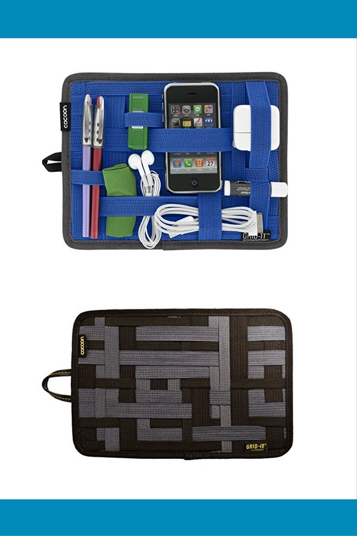Keep all your electronics and travel necessities