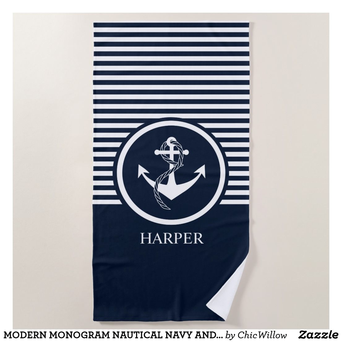 Navy Blue And White Striped Towels Manufacturer In Usa Australia