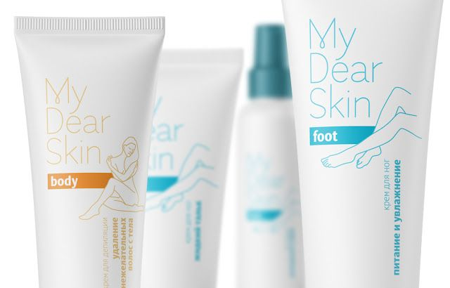 Cosmetic Line My Dear Skin Concept Packaging Design Cosmetics