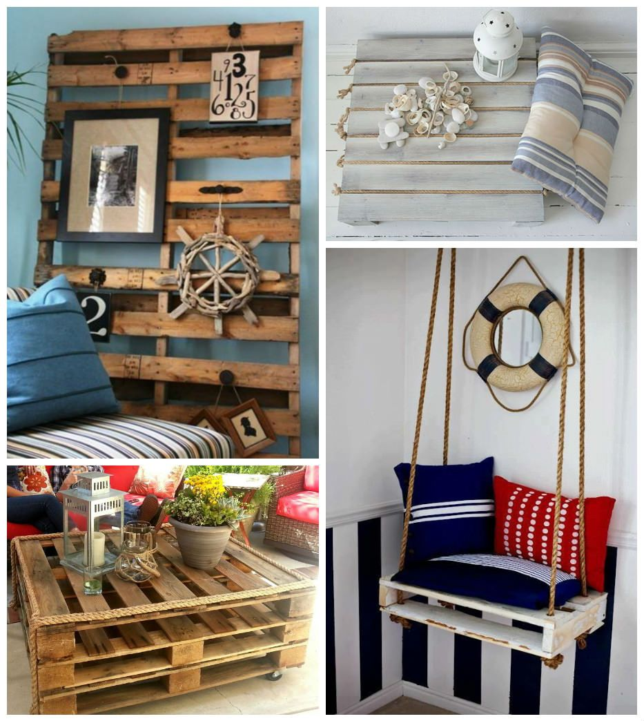 Pallet Decor Ideas: If Like Me You're A Fan Of Coastal-country Style Decor