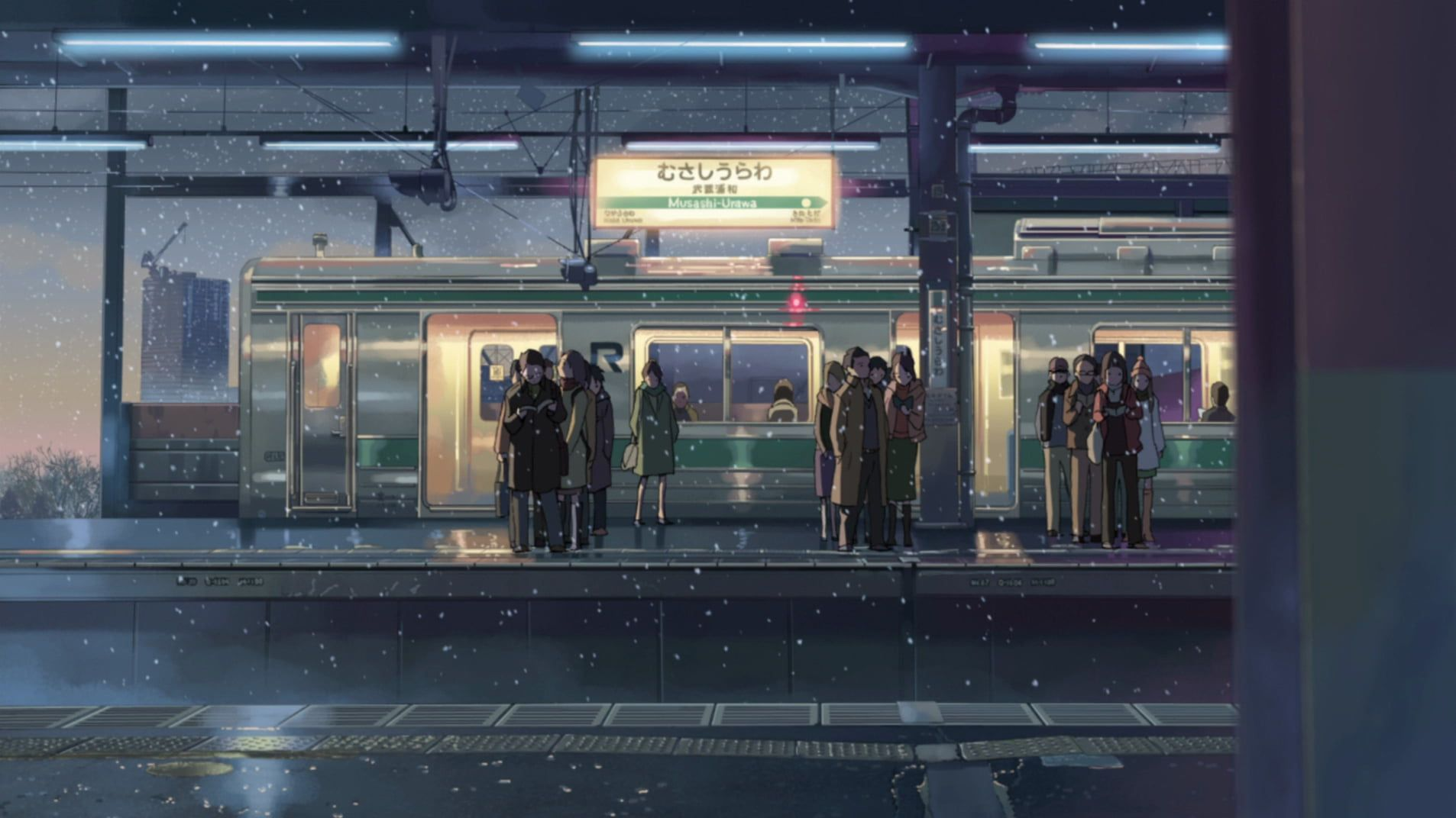 Image result for 5 centimeters per second store (With