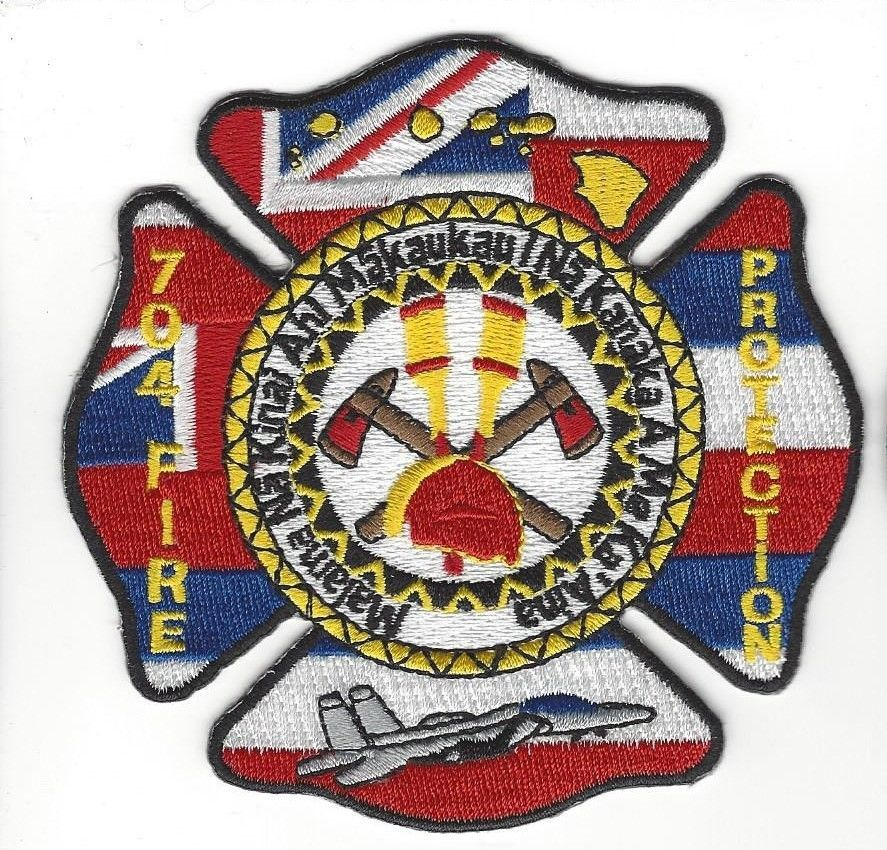 704th Fire Protection Hickam AFB Air Force Base Hawaii HI