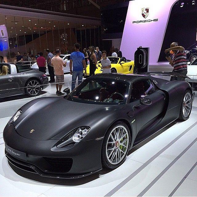 Porsche Car Show: Porsche 918 Spyder, Pebble Beach Concours D'Elegance