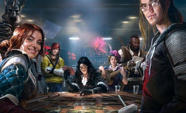 GWENT : Les doubleurs de The Witcher 3 reprennnet du service