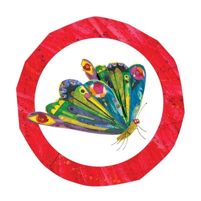 The World of Eric Carle Wall Graphics from Walls 360: Butterfly Badge Circle
