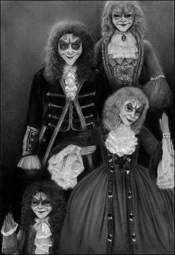 The clockwork people. These creeped me out. Really bad. And also kimd of what I thought of when reading the infernal devices