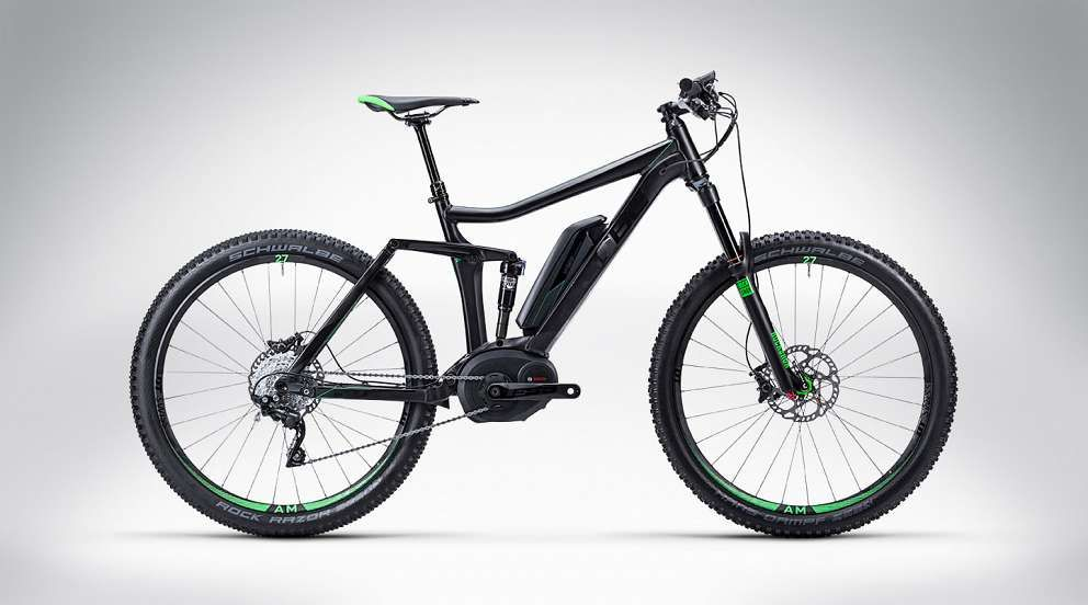 CUBE Stéréo Hybrid 27.5 140 Vélo électrique, Velo