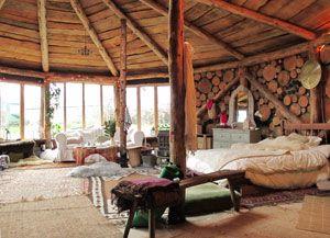 Roundhouse interior  Cornwall