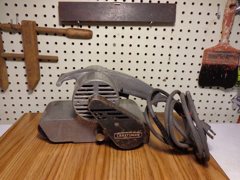 Sears Craftsman Vintage 3 X 21 1hp 7amp Model 315 22420 Belt Sander Sears Roebuck And Co Made In U S A Sears Craftsman Tools For Sale Favorite Things List