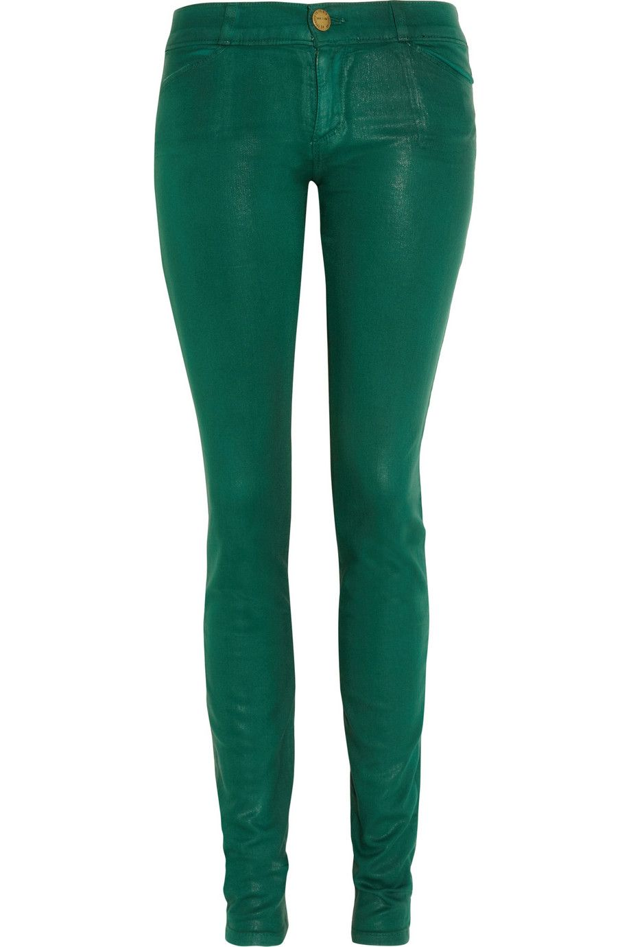 d4c90c8adea93 Current/Elliott | The Jean Legging coated low-rise jeans | NET-A-PORTER.COM