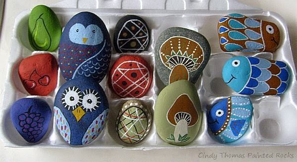 Rock Art Painting And Crafting With The Humble Pebble