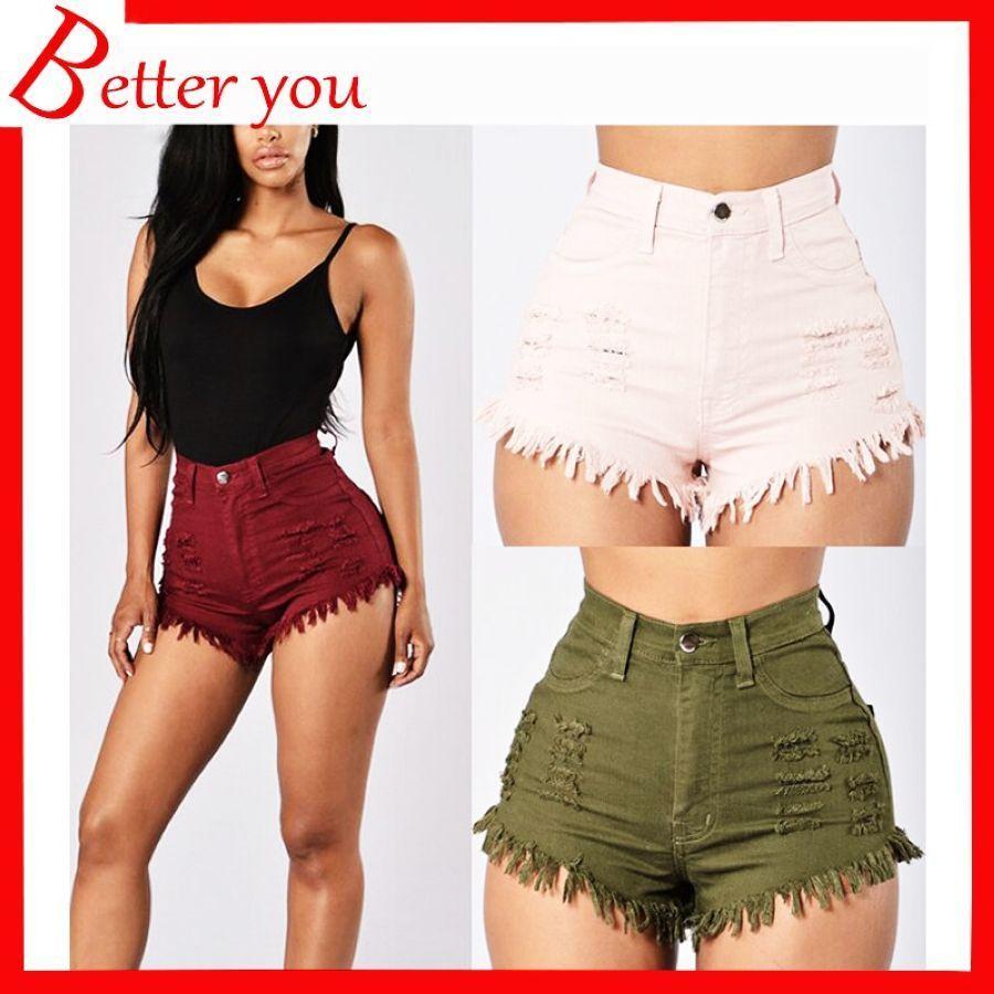 Pin En Shorts Pantalones Cortos Mujer