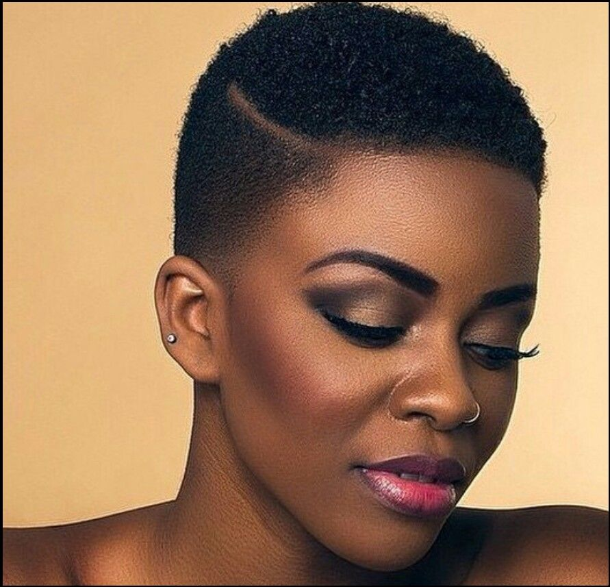 Black Woman Short Hair Cut Styles