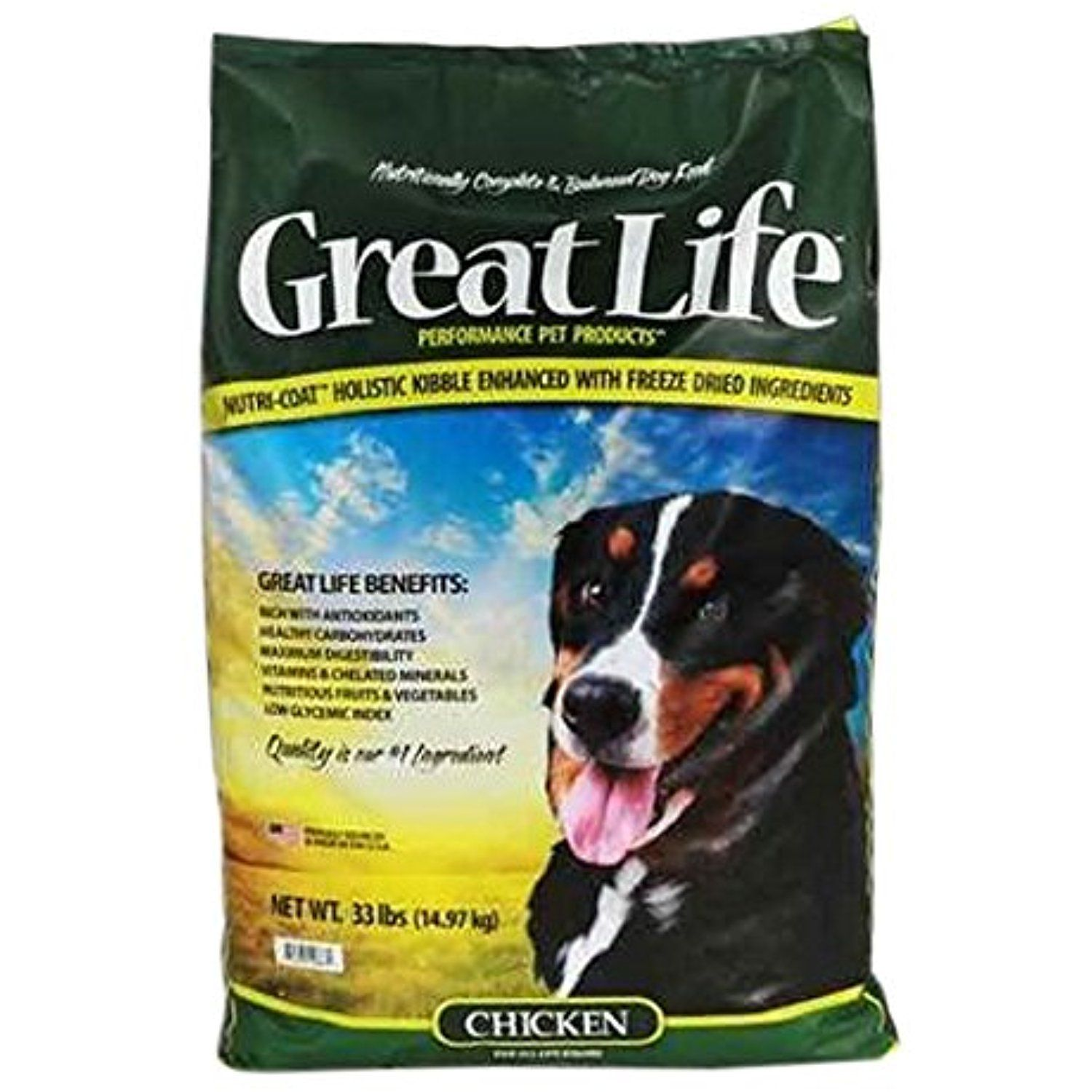 Great Life Freeze Dried Chicken Dog Food 33 Lb For You To View