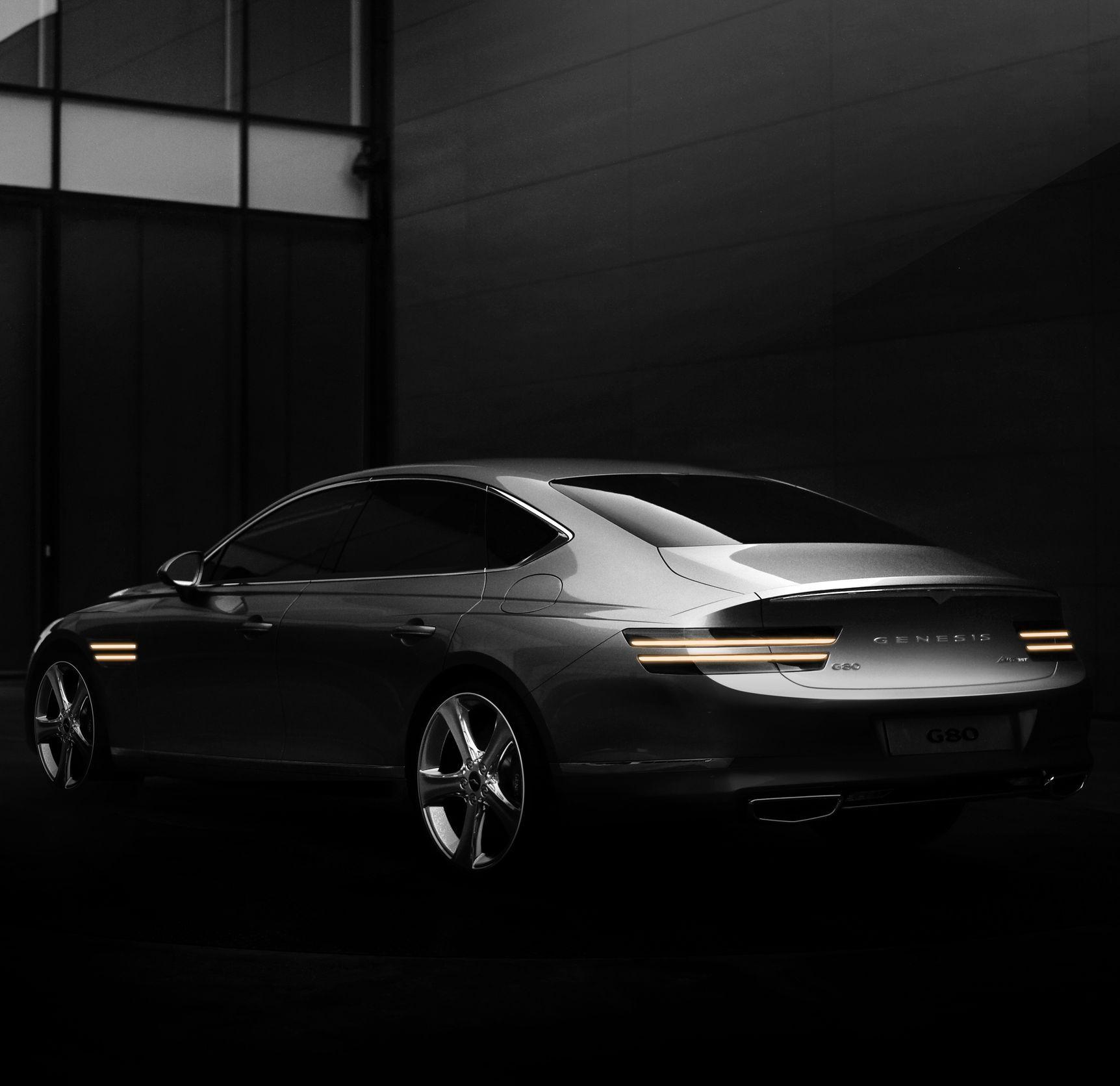 Erste Bilder OberklasseLimousine Genesis G80 in 2020 E