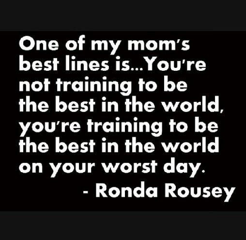Pin By Brittany Jolly On Quotes And Sayings Ronda Rousey Quotes Motivational Quotes Inspirational Quotes