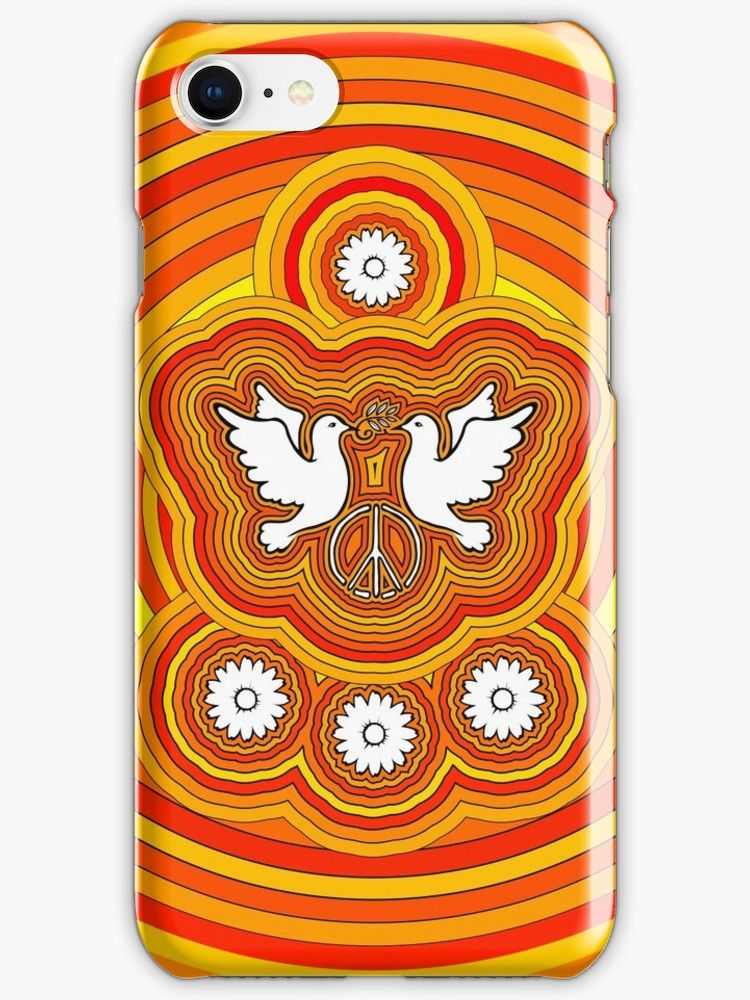 coque iphone 8 peace and love