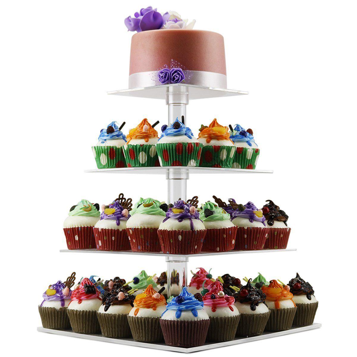 acrylic cake stand amazon