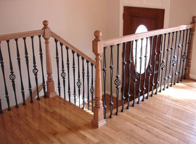 Awesome 16.1.8 Double Knuckle Iron Baluster   Stair Supplies Love Pattern