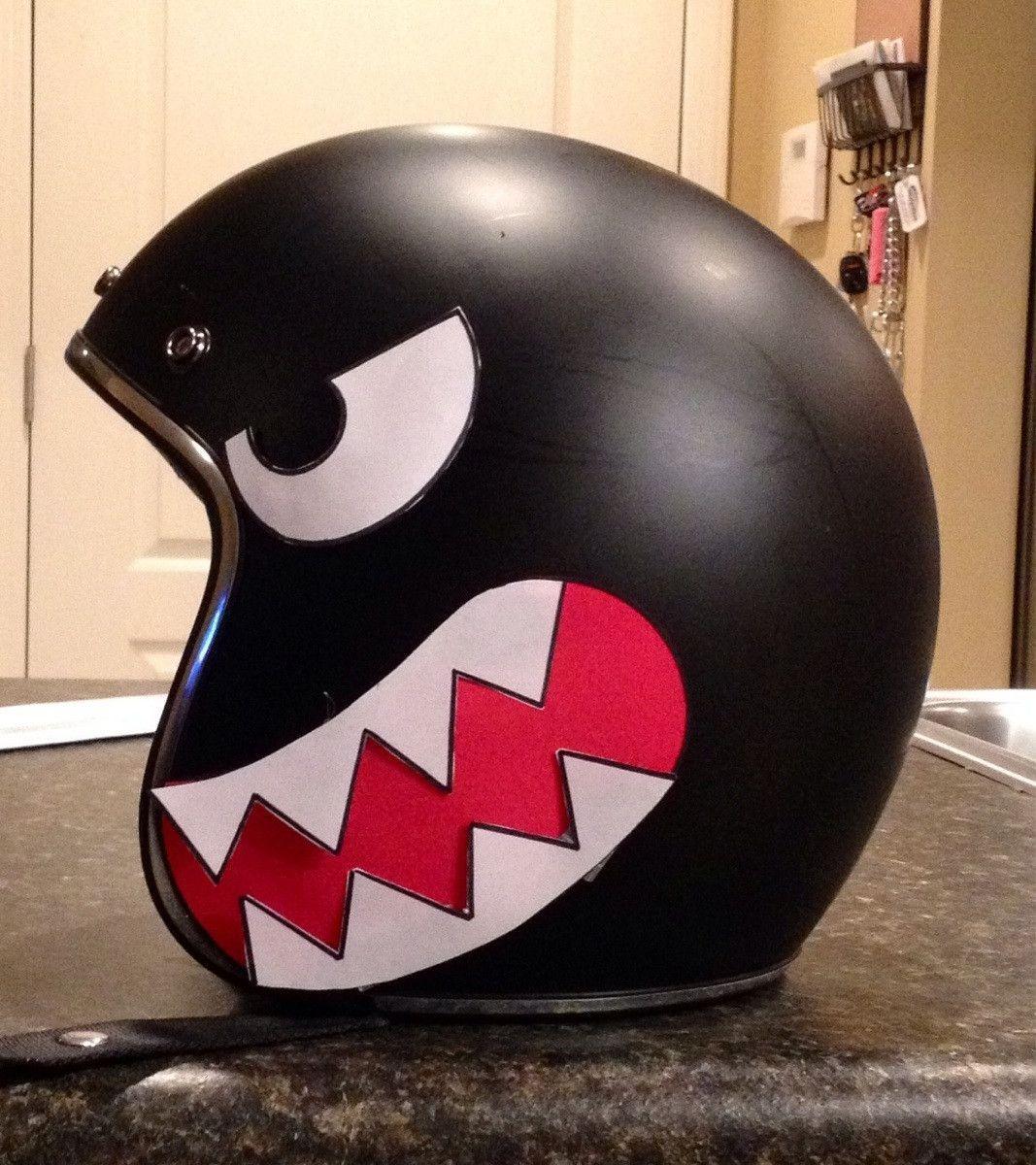 Bullet Bill Helmet Mario Via Reddit User Zcnr39 Motorcycle