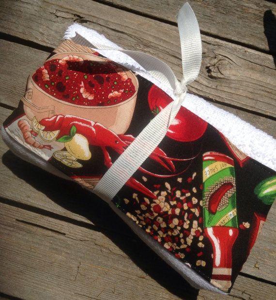 Cajun Decorative Hand Towel By Mydecor8 On Etsy, $5.25