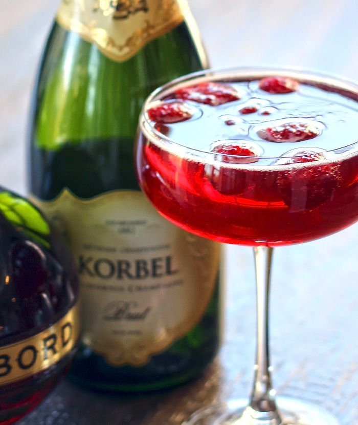 Chambord Cocktails, Royal Punch