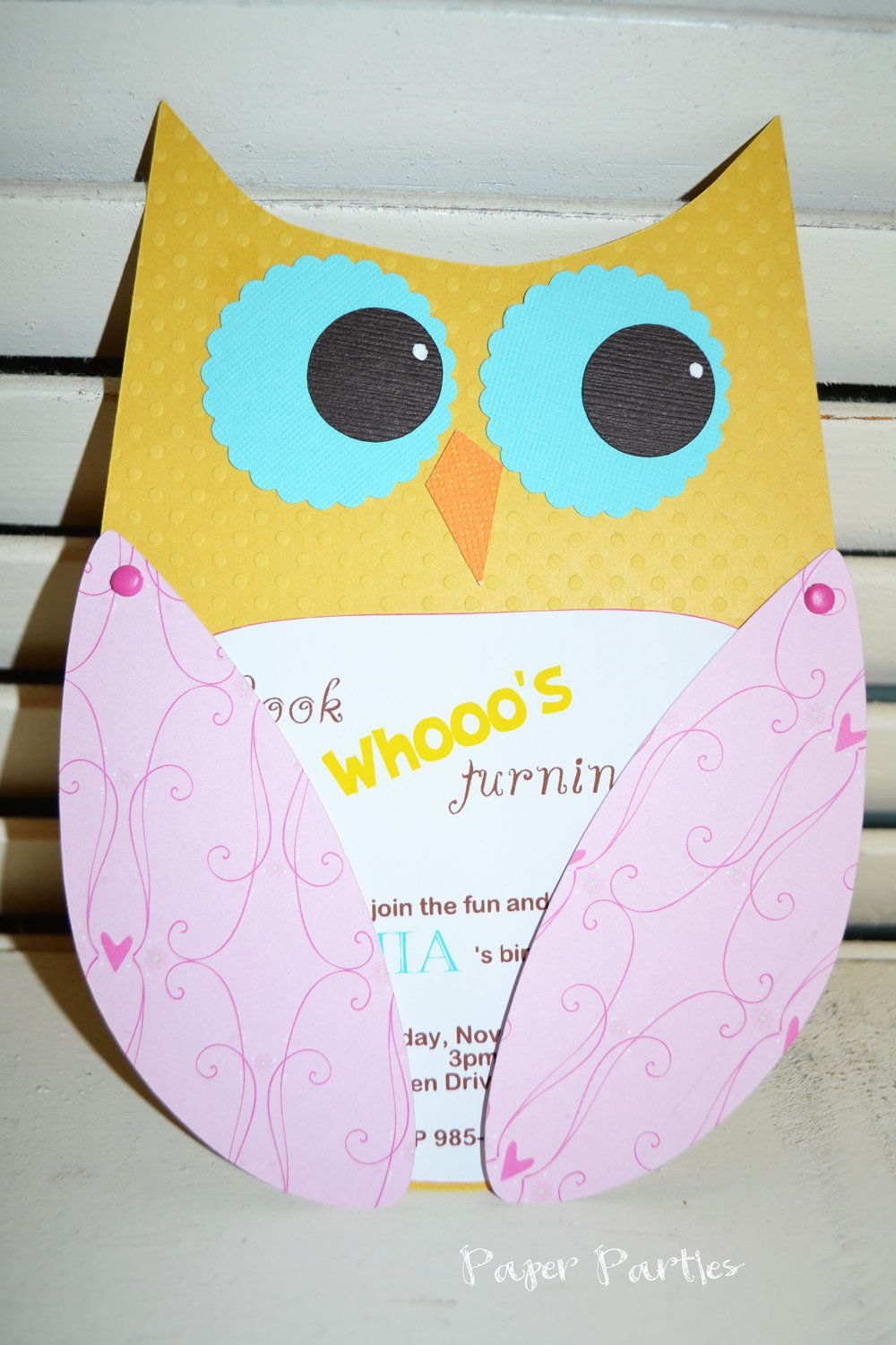 Custom Listing for Amanda 15 Invitations by PaperPartiesBoutique ...